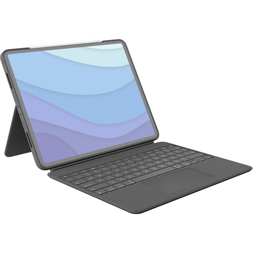 """Logitech Combo Touch Backlit Keyboard Case for Apple 12.9"""" iPad Pro (5th Gen)"""