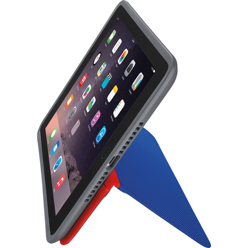 Logitech AnyAngle Folio Case for iPad Air 2 (Blue/Red)