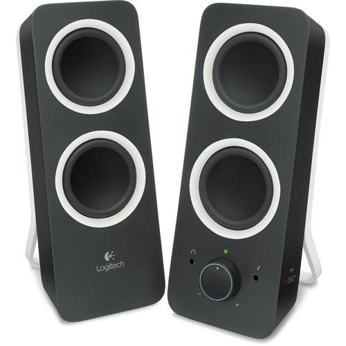 Logitech Multimedia Speakers Z200 (Midnight Black)