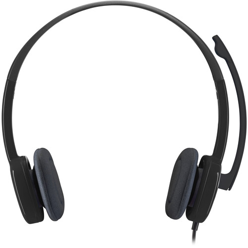 Logitech H151 Multi-Device Stereo Headset with In-Line Controls (Single-Pin)