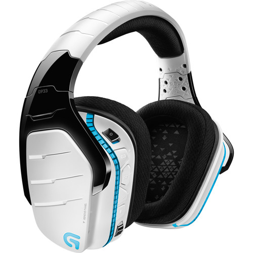 Logitech G933 Artemis Spectrum Wireless 7.1 Gaming Headset (White)
