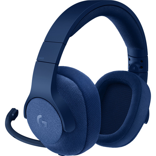 Logitech G433 7.1 Wired Surround Gaming Headset (Blue)