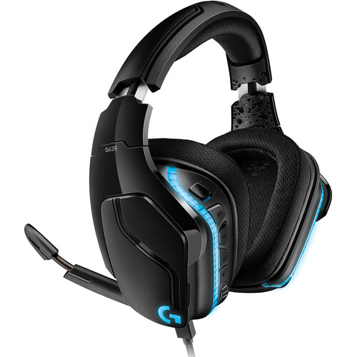 Logitech G G635 Virtual 7.1-Channel Surround Sound LIGHTSYNC Gaming Headset