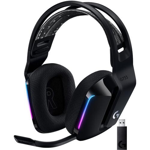 Logitech G G733 LIGHTSPEED Wireless RGB Gaming Headset (Black)