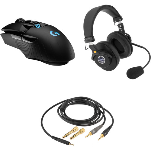 Logitech G903 Lightspeed Wireless Gaming Mouse Kit with Senal Headset & Communication Cable