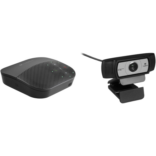Logitech Logitech Mobile Speakerphone with Webcam Kit