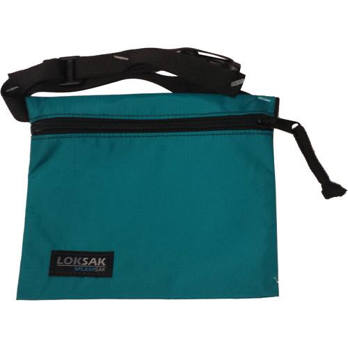 "LOKSAK SPLASHSAK 7 x 6"" Dipper FP with Two 6.75 x 6.00"" aLOKSAK Waterproof Bags (Teal)"