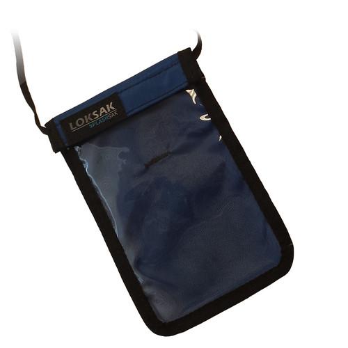 LOKSAK SPLASHSAK Phone Neck Caddy (Regatta Blue)