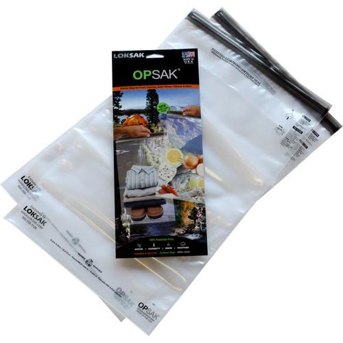 """LOKSAK OPSAK Waterproof Bags - 12 x 20"""" (2-Pack)"""