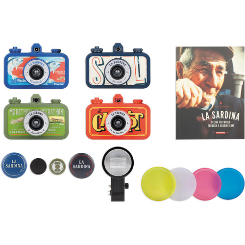 Lomography La Sardina Deluxe Kit with Flash
