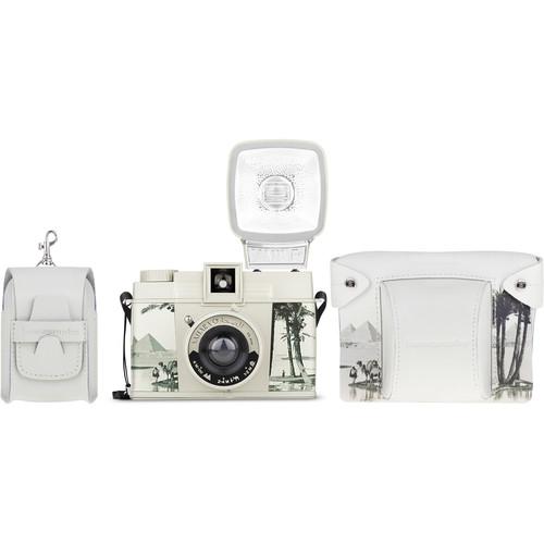 """Lomography Diana F+ Medium Format Camera """"Ready to Shoot"""" Kit (Sahara)"""