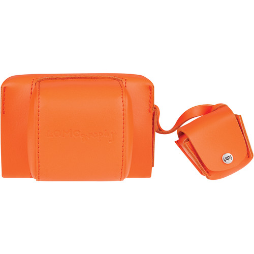 Lomography Fisheye Leather Case (Vibrant Orange)