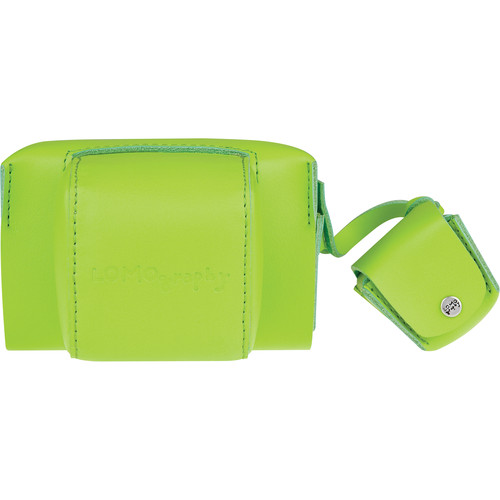 Lomography Fisheye Leather Case (Lime Punch)
