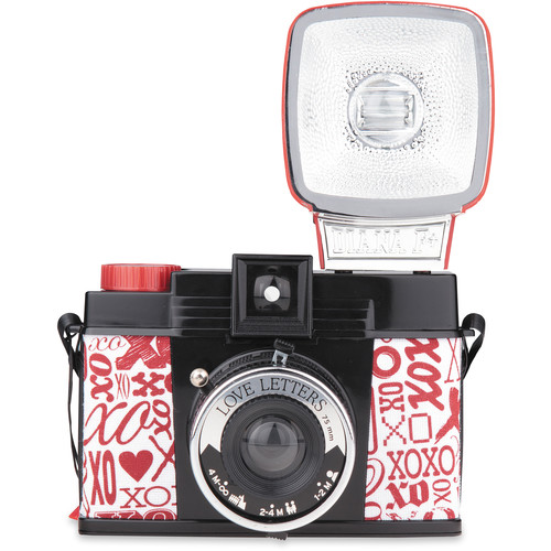 Lomography Diana F+ Medium Format Camera (Love Letters)