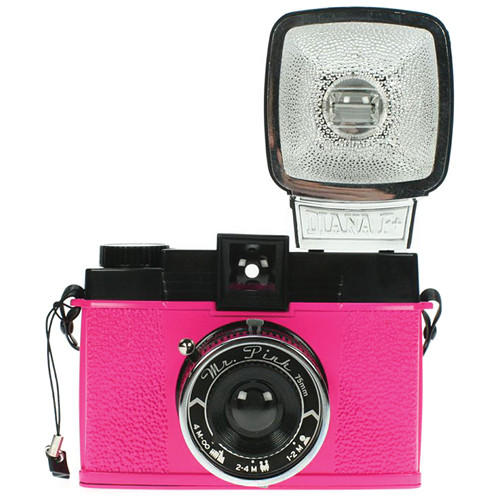 Lomography Diana F+ Film Camera and Flash (Mr. Pink)