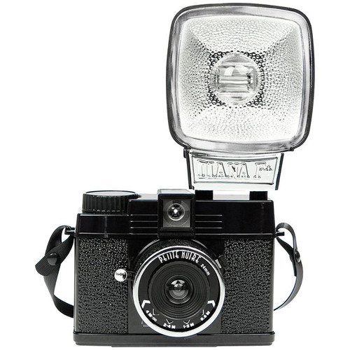 Lomography Diana Mini 35mm Camera with Flash (Petite Noire)