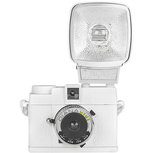 Lomography Diana Mini 35mm Camera with Flash (White)
