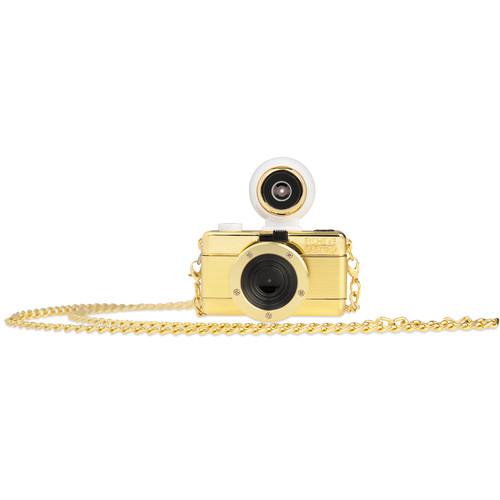 Lomography Fisheye Baby 110 Film Camera (Gold Edition)
