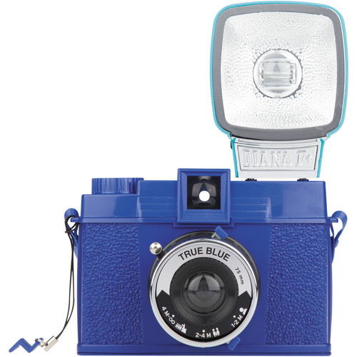 Lomography Diana F+ Medium Format Camera (True Blue)