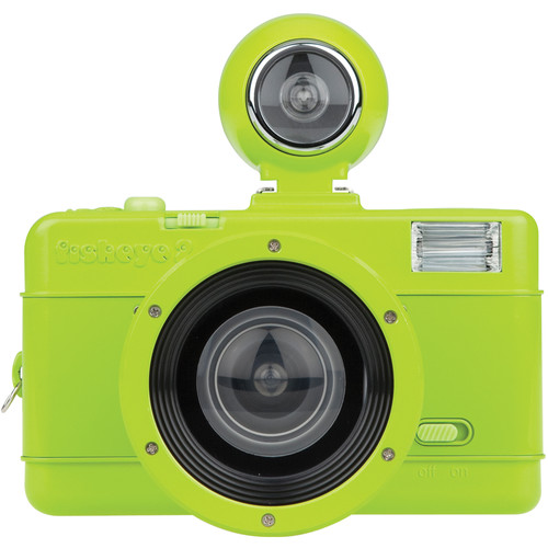 Lomography Fisheye No.2 35mm Camera (Lime Punch)