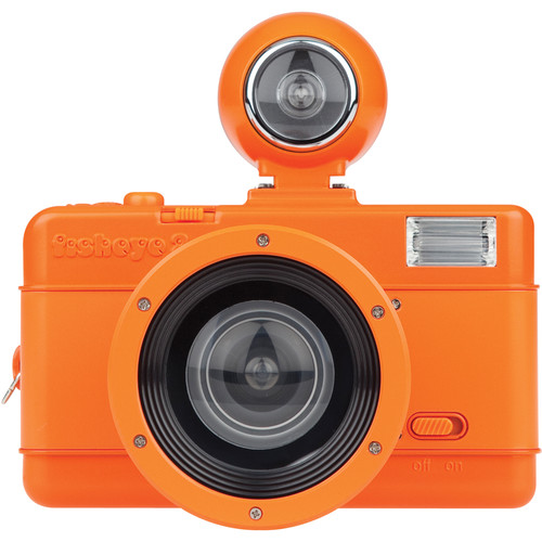 Lomography Fisheye No.2 35mm Camera (Vibrant Orange)