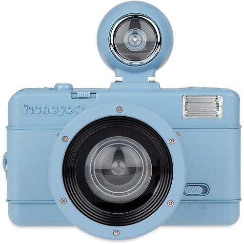 Lomography Fisheye No.2 35mm Camera (Faded Denim)