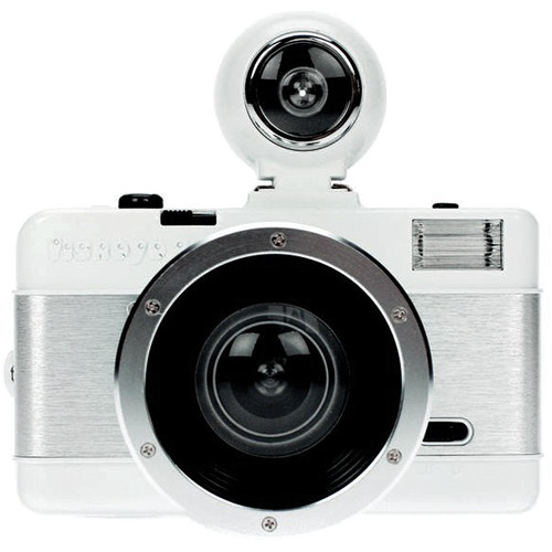 Lomography Fisheye No.2 35mm Camera (White Knight)