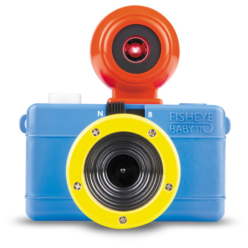 Lomography Fisheye Baby 110 Film Camera (Bauhaus Edition)