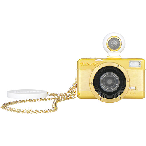 Lomography Fisheye No.2 35mm Camera (Gold)