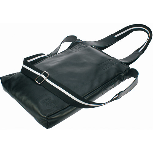 Lomography Lomofolio Bag Black with White Stripe (Black, Leather)