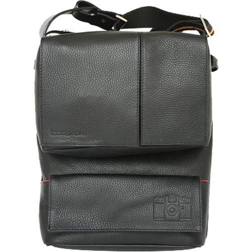 Lomography Sidekick Lite Leather Bag (Black)