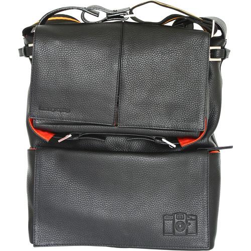 Lomography Sidekick Leather Bag (Black)