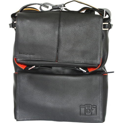 Lomography Sidekick Leather Bag (Black)