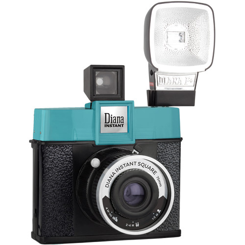 Lomography Diana Instant Square Camera with Flash Deluxe Kit (Classic Edition)