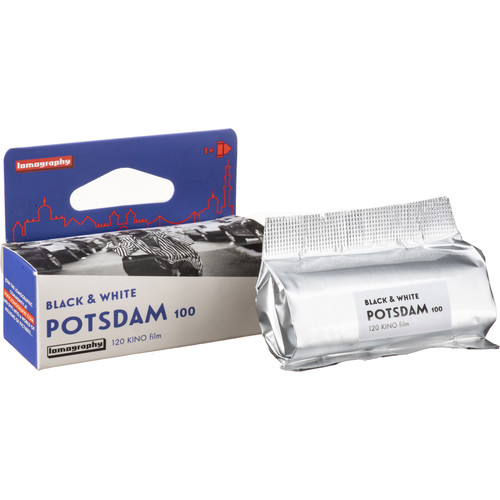 Lomography Potsdam Kino 100 Black and White Negative Film (120 Roll Film)
