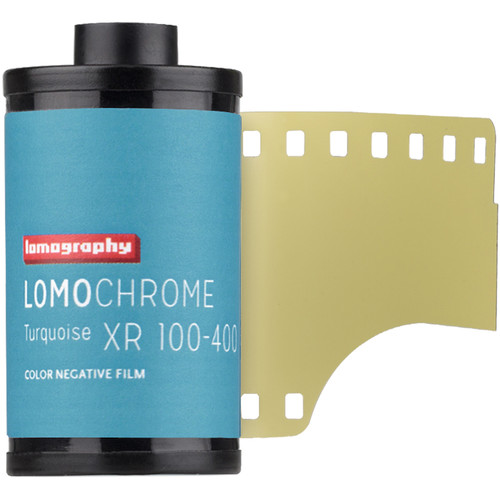 Lomography LomoChrome Turquoise XR 100-400 Color Negative Film (35mm Roll Film, 36 Exposures)