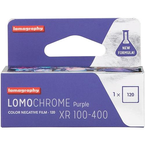 Lomography LomoChrome Purple XR 100-400 Color Negative Film (120 Roll Film)