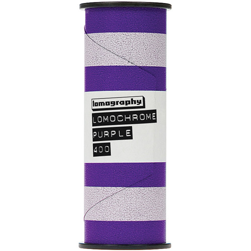 Lomography LomoChrome Purple XR 100-400 Color Negative Film (120 Roll Film)
