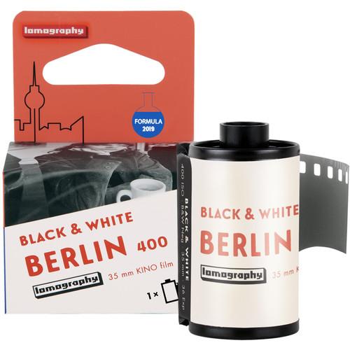 Lomography Berlin Kino 400 Black and White Negative Film (35mm Roll Film, 36 Exposures)