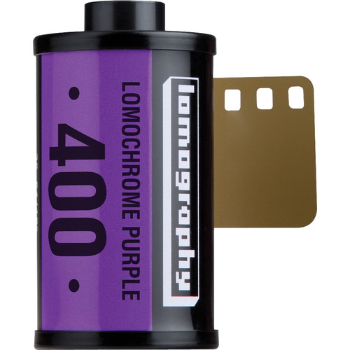 Lomography LomoChrome Purple XR 100-400 Color Negative Film (35mm Roll Film, 36 Exposures)