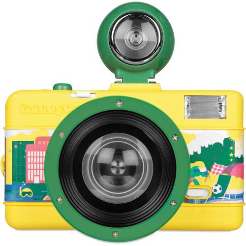 Lomography Fisheye No.2 35mm Camera (Brazilian Summer)
