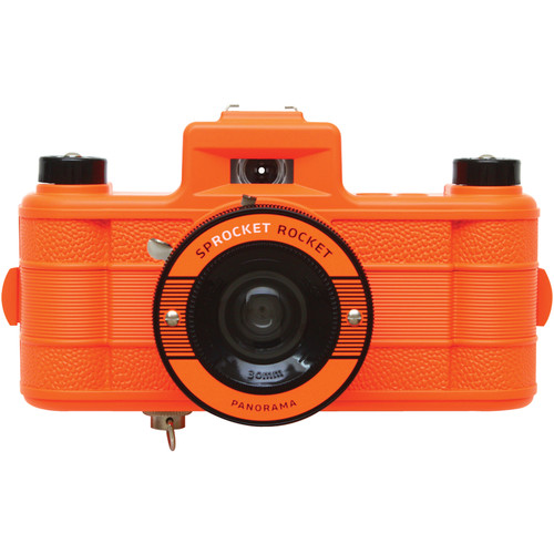 Lomography Sprocket Rocket Superpop! 35mm Film Camera (Orange)