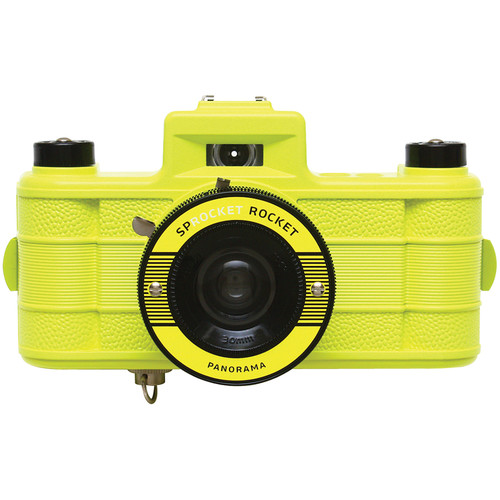 Lomography Sprocket Rocket Superpop! 35mm Film Camera (Yellow)