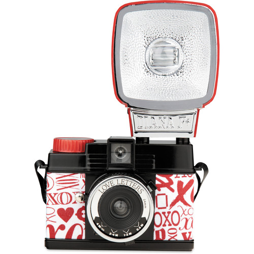 Lomography Diana Mini 35mm Camera with Flash (Love Letters)