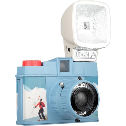 Lomography Diana F+ Film Camera and Flash (Cortina)