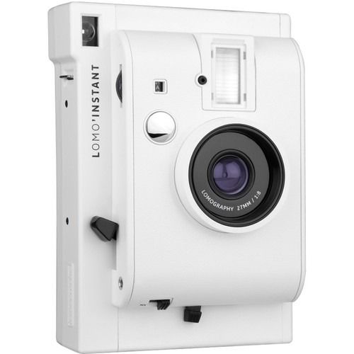 Lomography Lomo'Instant Instant Film Camera (White Edition)