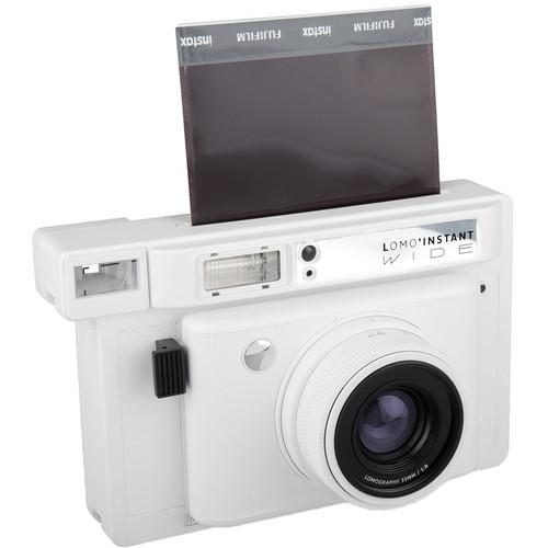 Lomography Lomo'Instant Wide Camera (White Edition)