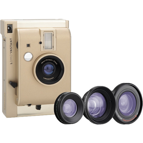 Lomography Lomo'Instant Instant Film Camera and Lenses (Yangon Edition)