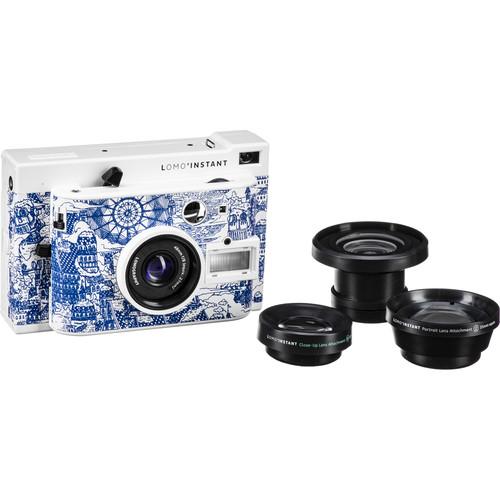 Lomography Lomo'Instant Instant Film Camera and Lenses (Explorer Edition)