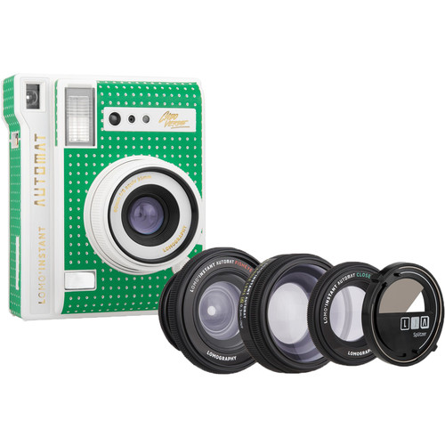 Lomography Lomo'Instant Automat Instant Film Camera and Lenses (Cabo Verde)
